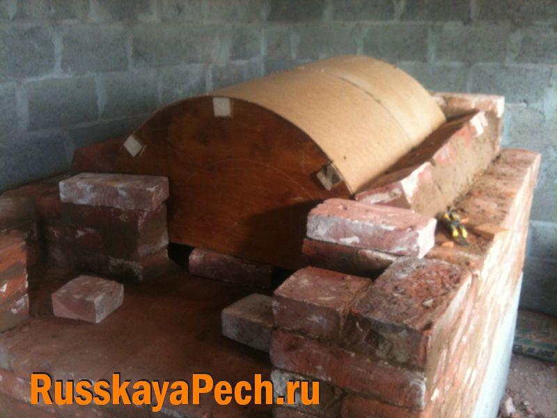 Строим печь для хлеба